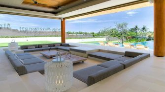 The Iman Villa Living Area, Pererenan | 5 Bedroom Villas Bali