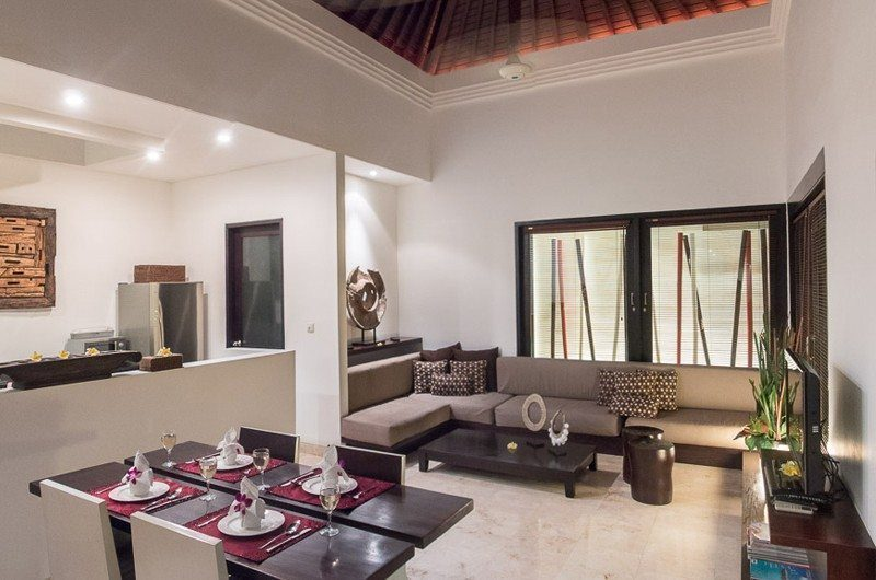 The Residence Living and Dining Area, Seminyak | 5 Bedroom Villas Bali