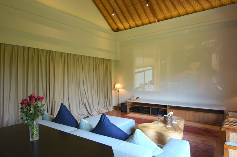 The Shanti Residence Media Room, Nusa Dua | 5 Bedroom Villas Bali