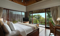 The Shanti Residence Bedroom with TV and Wooden Floor, Nusa Dua | 5 Bedroom Villas Bali