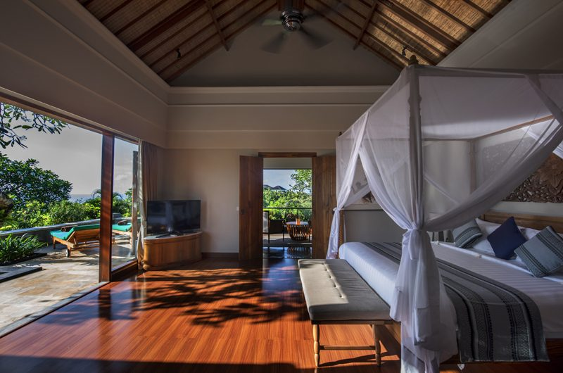 The Shanti Residence Bedroom with Wooden Floor, Nusa Dua | 5 Bedroom Villas Bali