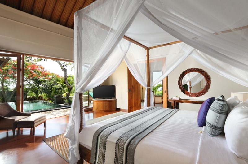 The Shanti Residence Bedroom with Pool View, Nusa Dua | 5 Bedroom Villas Bali