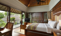 The Shanti Residence Bedroom and Balcony, Nusa Dua | 5 Bedroom Villas Bali