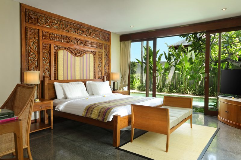 The Shanti Residence Bedroom with TV, Nusa Dua | 5 Bedroom Villas Bali