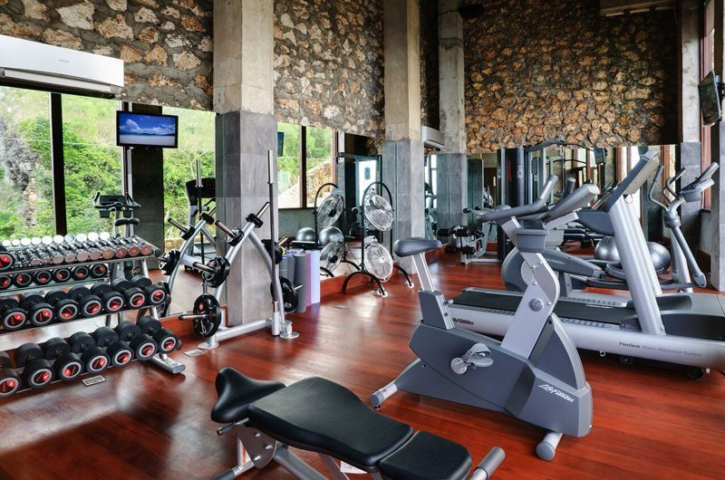 The Ungasan Clifftop Resort Gym, Uluwatu | 5 Bedroom Villas Bali
