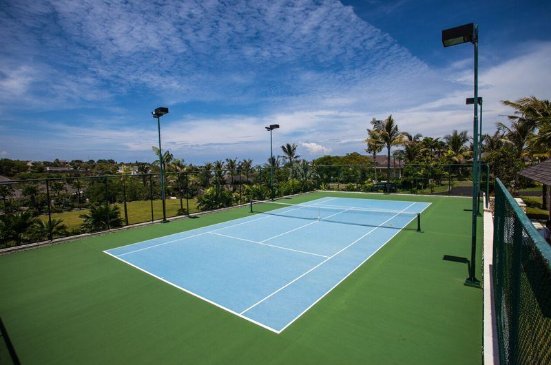The Ungasan Clifftop Resort Tennis Court, Uluwatu | 5 Bedroom Villas Bali