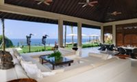 The Ungasan Clifftop Resort Villa Ambar Living Area with Pool View, Uluwatu | 5 Bedroom Villas Bali