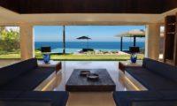 The Ungasan Clifftop Resort Villa Jamadara Living Area with Sea View, Uluwatu | 5 Bedroom Villas Bali