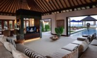 The Ungasan Clifftop Resort Villa Nora Living Area with Pool View, Uluwatu | 5 Bedroom Villas Bali