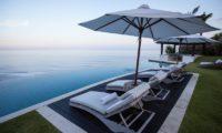 The Ungasan Clifftop Resort Villa Pawana Pool Side Sun Loungers, Uluwatu | 5 Bedroom Villas Bali