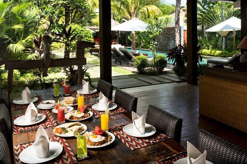 Villa Abakoi Dining Area, Seminyak | 5 Bedroom Villas Bali