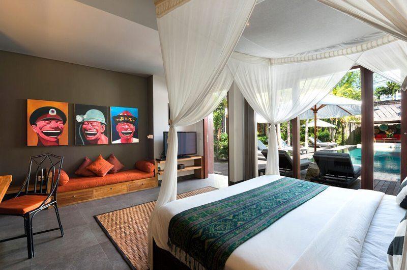 Villa Abakoi Bedroom with Seating Area, Seminyak | 5 Bedroom Villas Bali