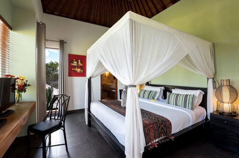 Villa Abakoi Four Poster Bed with TV, Seminyak | 5 Bedroom Villas Bali