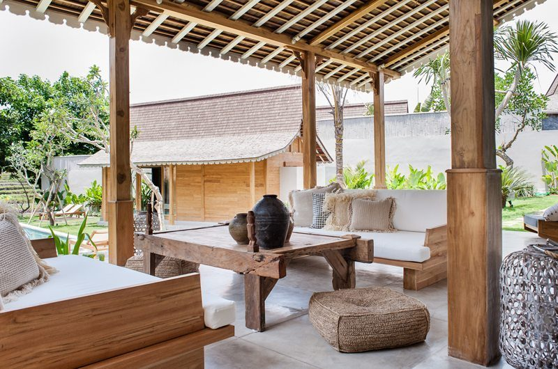 Villa Alea Outdoor Lounge, Kerobokan | 5 Bedroom Villas Bali