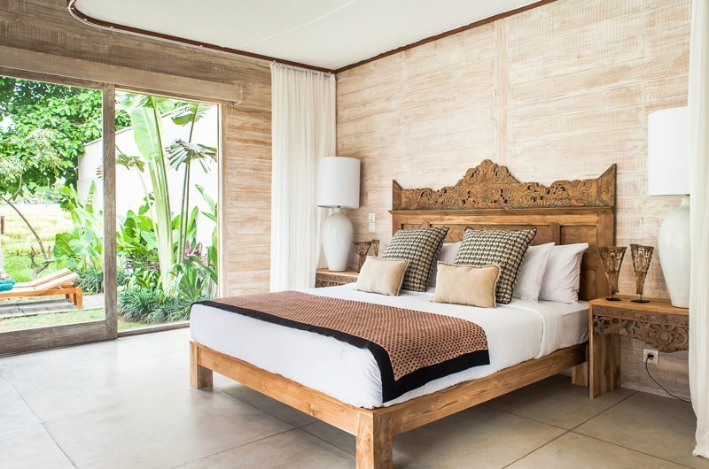 Villa Alea Bedroom with Outdoor View, Kerobokan | 5 Bedroom Villas Bali