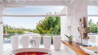 Villa Anucara Romantic Bathtub Set Up, Seseh | 5 Bedroom Villas Bali