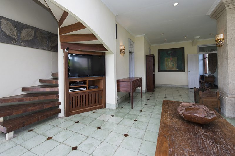 Villa Anyar Living Area with Up Stairs, Umalas | 5 Bedroom Villas Bali