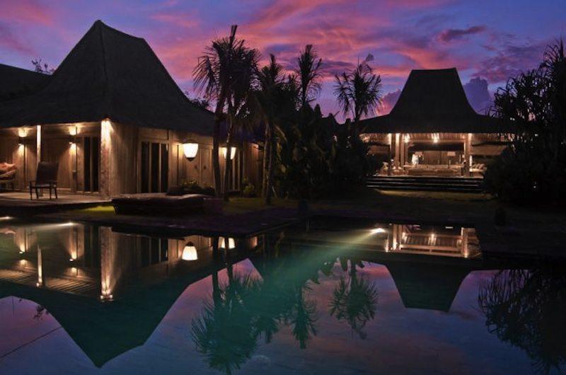 Villa Asli Swimming Pool at Night, Canggu | 5 Bedroom Villas Bali