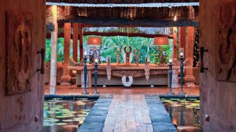 Villa Asli Pathway to Living Area, Canggu | 5 Bedroom Villas Bali