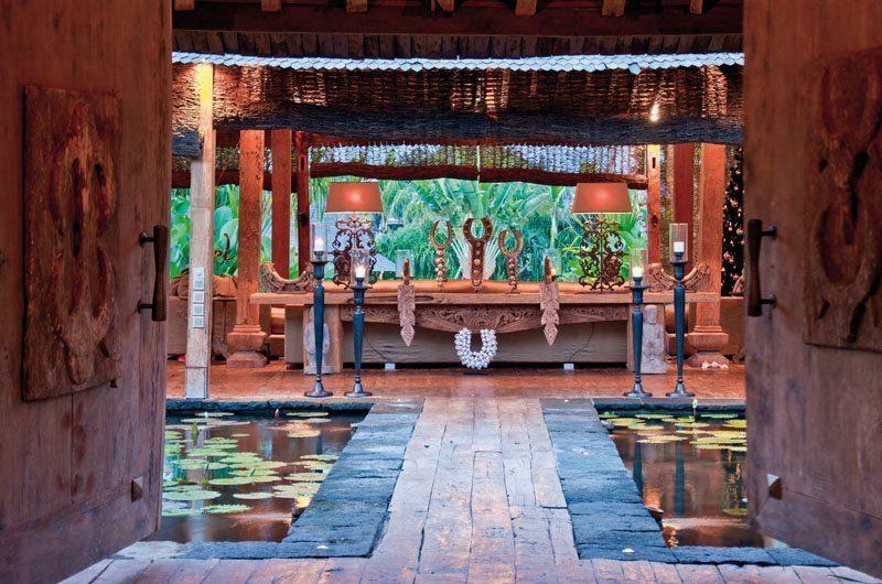 Villa Asli Pathway to Living Area, Canggu | 5 Bedroom Villas Bali