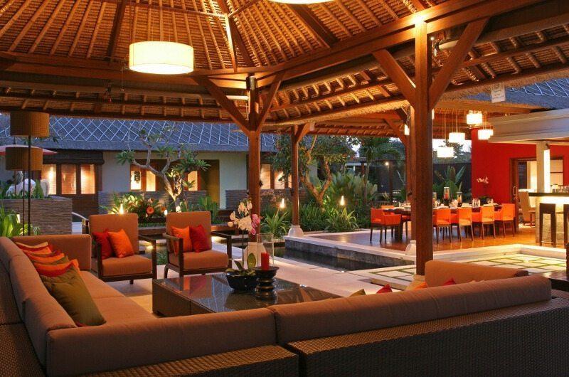 Villa Asta Open Plan Living Area, Batubelig | 5 Bedroom Villas Bali
