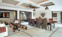 Villa Avalon Bali Dining Area, Canggu   5 Bedroom Villas Bali
