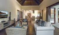 Villa Avalon Bali Living Area with TV, Canggu   5 Bedroom Villas Bali