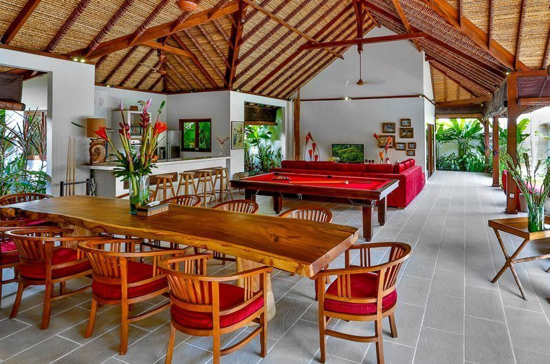 Villa Bibi Living and Dining Area, Kerobokan | 5 Bedroom Villas Bali
