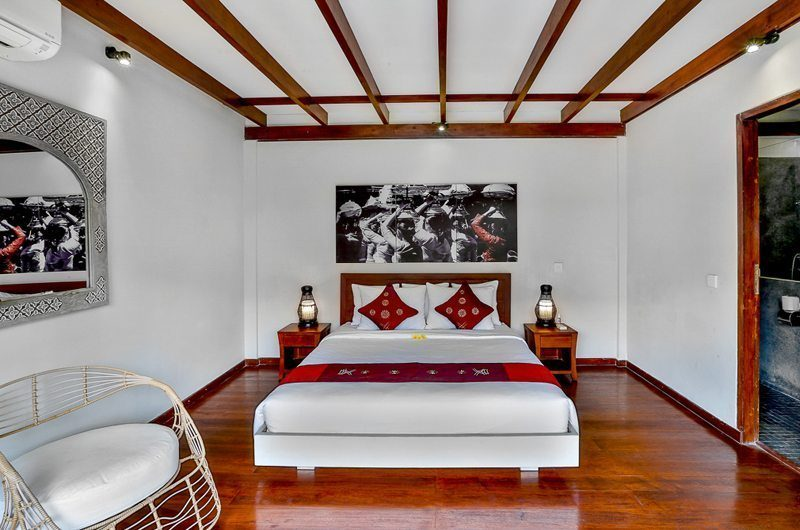 Villa Bibi Bedroom with Table Lamps, Kerobokan | 5 Bedroom Villas Bali