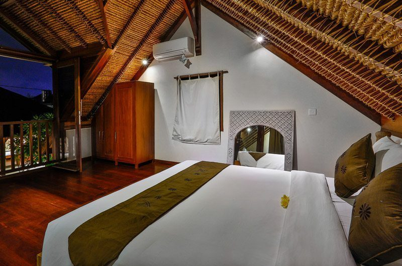 Villa Bibi Bedroom with Wooden Floor, Kerobokan | 5 Bedroom Villas Bali
