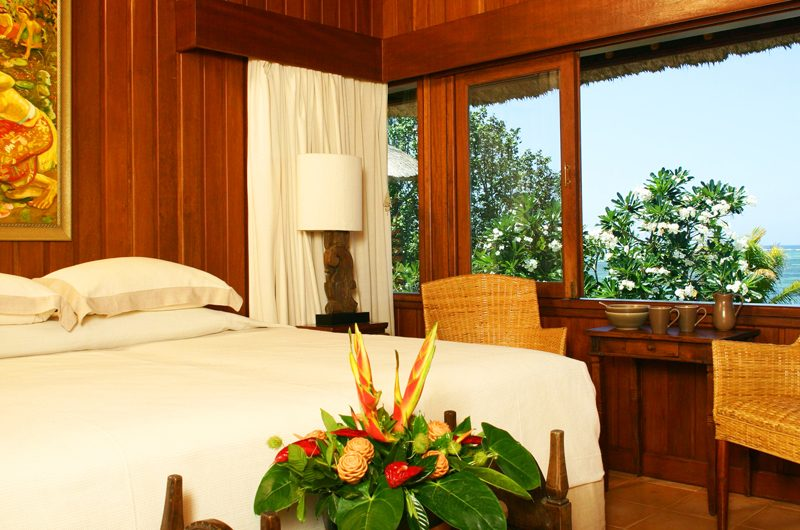 Villa Cemara Sanur Bedroom with Seating Area and Sea View, Sanur | 5 Bedroom Villas Bali