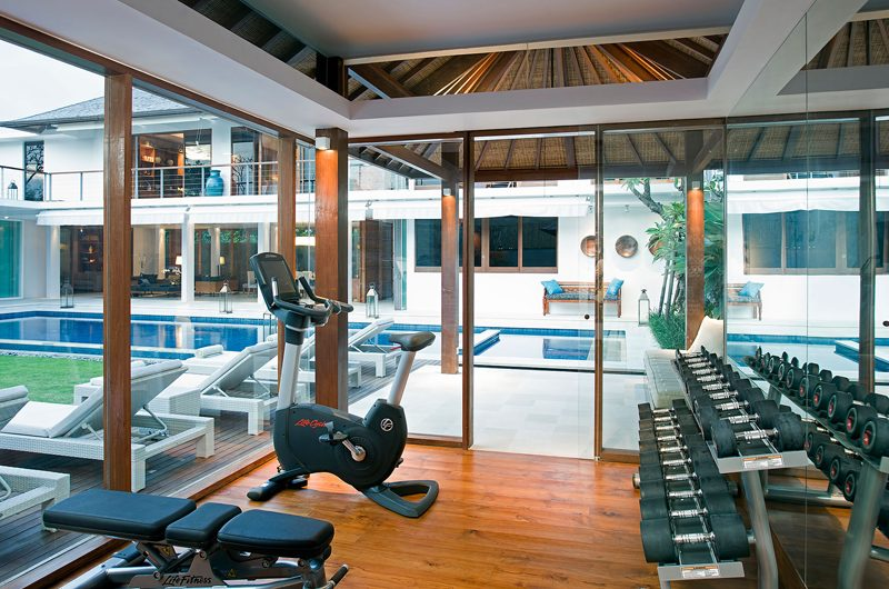 Villa Cendrawasih Gym with Pool View, Petitenget | 5 Bedroom Villas Bali