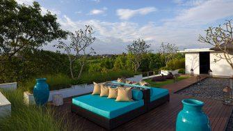 Villa Cendrawasih Open Plan Seating Area, Petitenget | 5 Bedroom Villas Bali