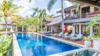 Villa Coraffan Sun Beds, Canggu   5 Bedroom Villas Bali