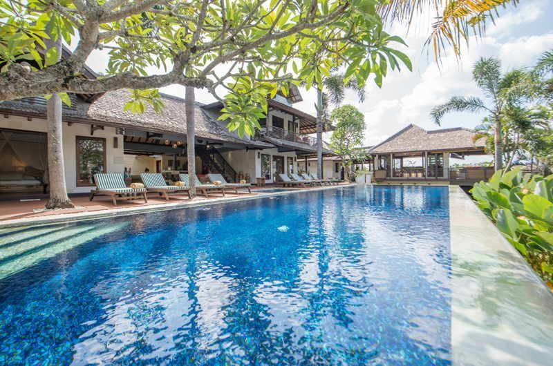 Villa Coraffan Swimming Pool, Canggu | 5 Bedroom Villas Bali