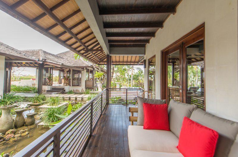 Villa Coraffan View from Balcony, Canggu | 5 Bedroom Villas Bali