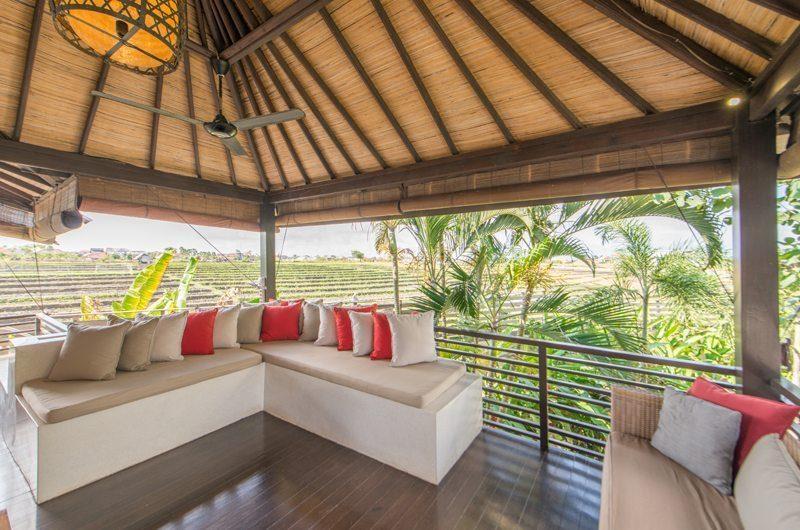 Villa Coraffan Outdoor Lounge Area, Canggu | 5 Bedroom Villas Bali