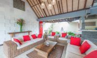 Villa Coraffan Lounge Area, Canggu | 5 Bedroom Villas Bali