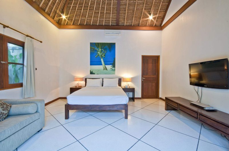 Villa Darma Bedroom with Sofa and TV, Seminyak | 5 Bedroom Villas Bali
