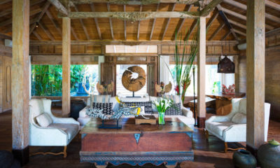 Villa Hansa Indoor Living Area, Canggu | 5 Bedroom Villas Bali