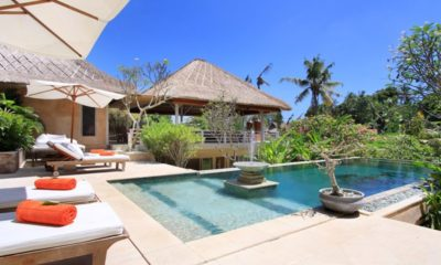 Villa Inti Pool Side Sun Loungers, Canggu | 5 Bedroom Villas Bali
