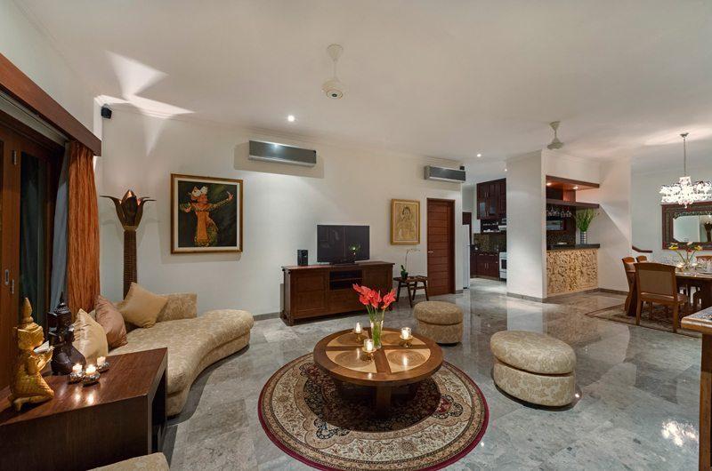 Villa Kalimaya Living Area, Seminyak | 5 Bedroom Villas Bali