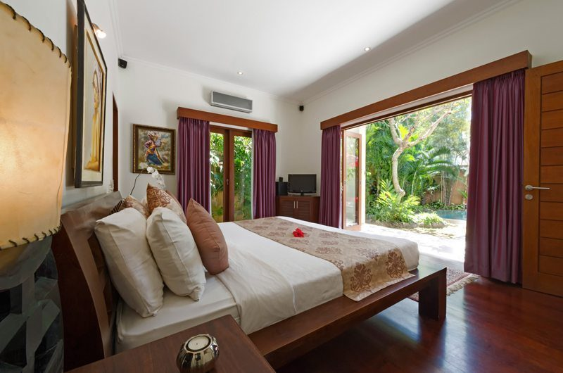 Villa Kalimaya Bedroom with Pool View, Seminyak | 5 Bedroom Villas Bali
