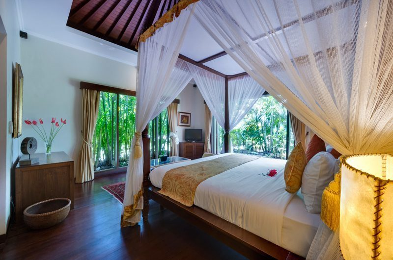 Villa Kalimaya Bedroom with Garden View, Seminyak | 5 Bedroom Villas Bali