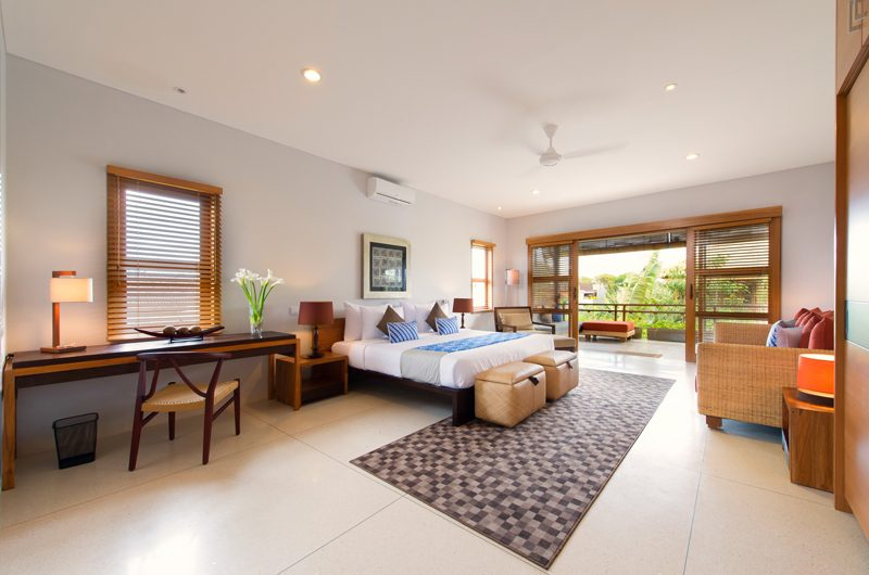 Villa Kinara Spacious Bedroom with Balcony, Seminyak | 5 Bedroom Villas Bali