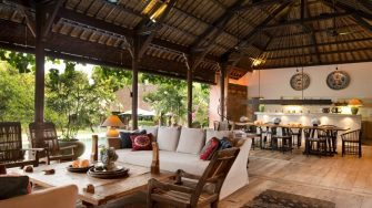 Villa Mamoune Living and Dining Area, Umalas | 5 Bedroom Villas Bali