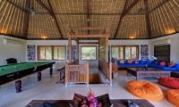 Villa Maridadi Living Area with Billiard Table, Seseh | 5 Bedroom Villas Bali