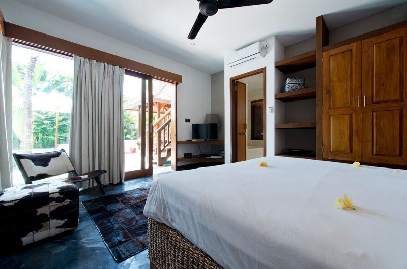 Villa Martine Bedroom with Garden View, Seminyak | 5 Bedroom Villas Bali