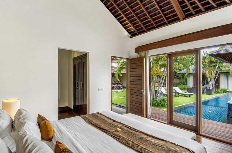 Villa M Bali Seminyak Bedroom with Pool View, Petitenget | 5 Bedroom Villas Bali