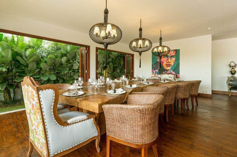 Villa Naty Dining Area, Umalas   5 Bedroom Villas Bali